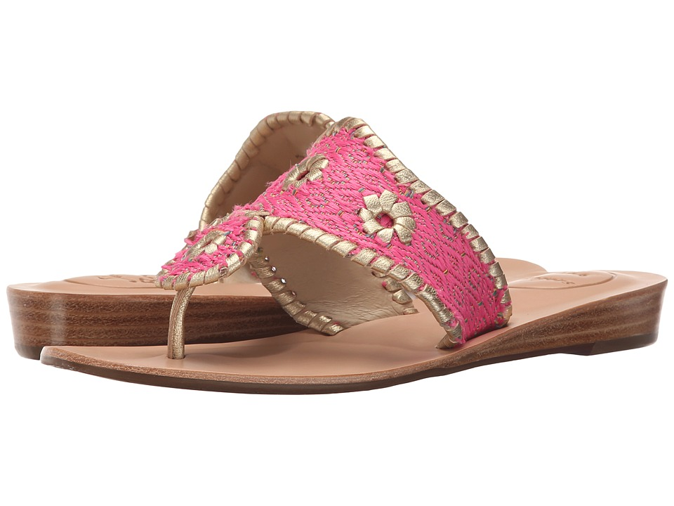 Jack Rogers - Inez (Bright Pink) Women's Sandals