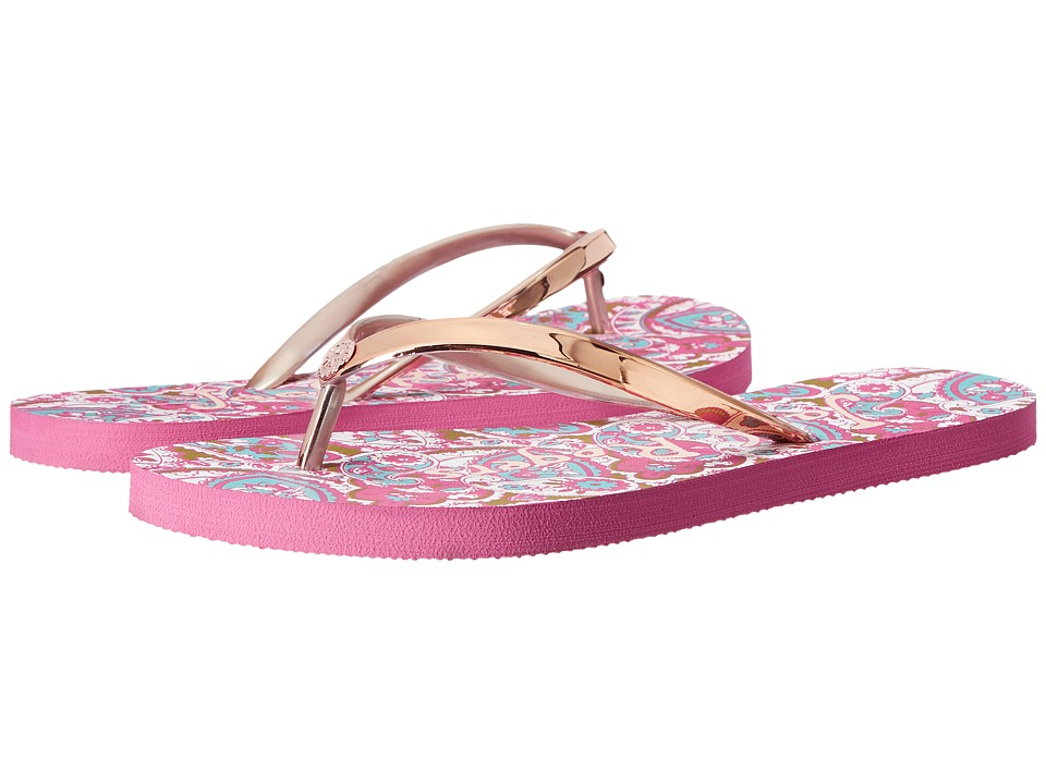Jack Rogers - Skye (Pink Paisley) Women's Shoes