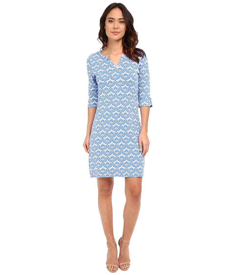 Hatley - Peplum Sleeve Dress (Embossed Flowers) Women's Dress