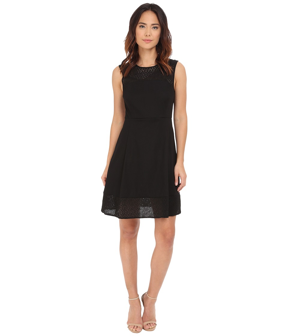 Hatley - Eyelet Dress (Black) Women's Dress