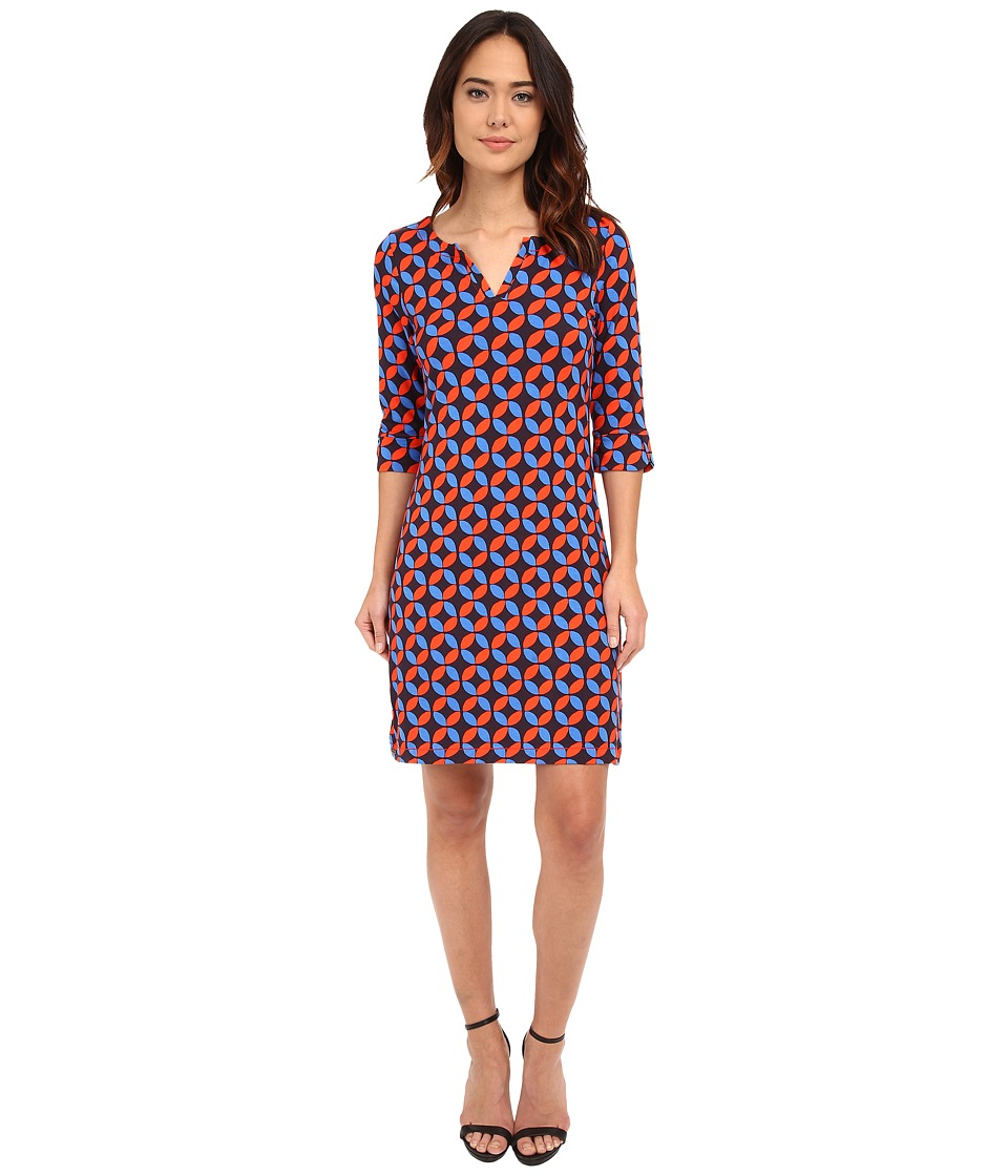 Hatley - Peplum Sleeve Dress (Lifesavers) Women's Dress