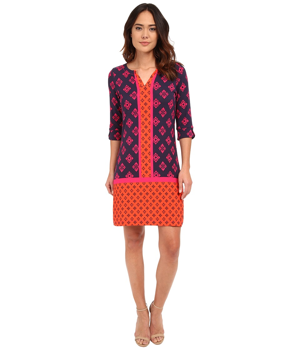 Hatley - Peplum Sleeve Dress (Mini Aztec) Women's Dress