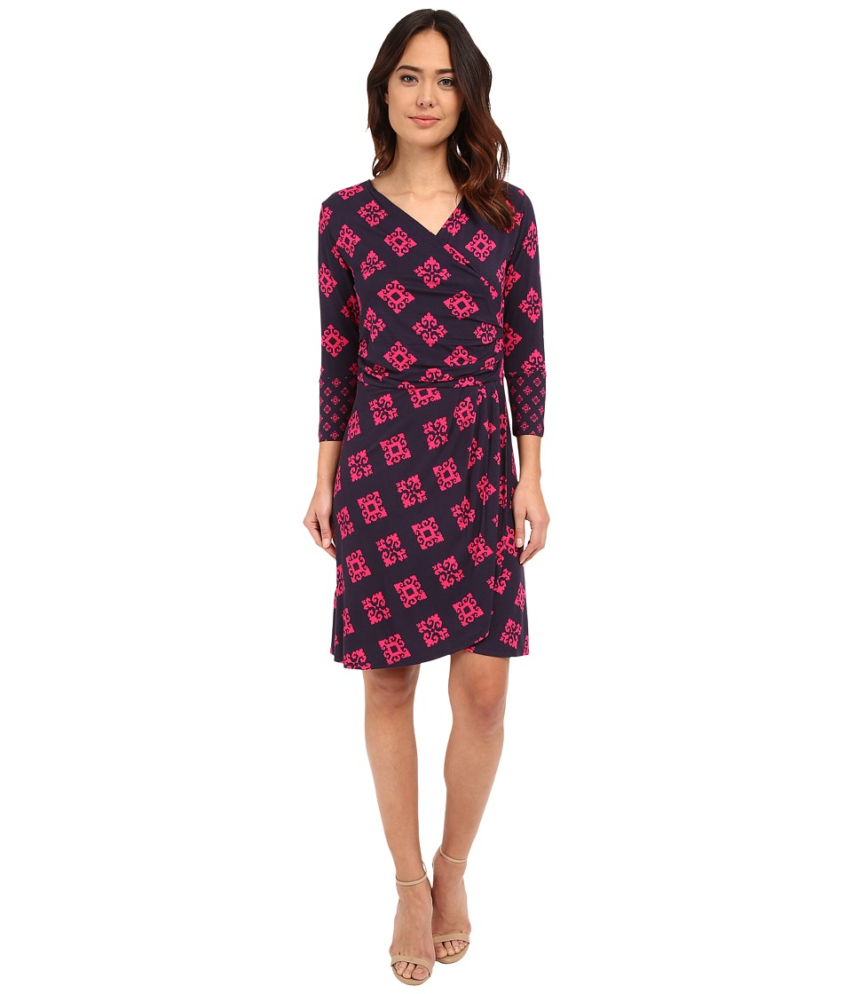 Hatley - Faux Wrap Dress (Mini Aztec) Women's Dress