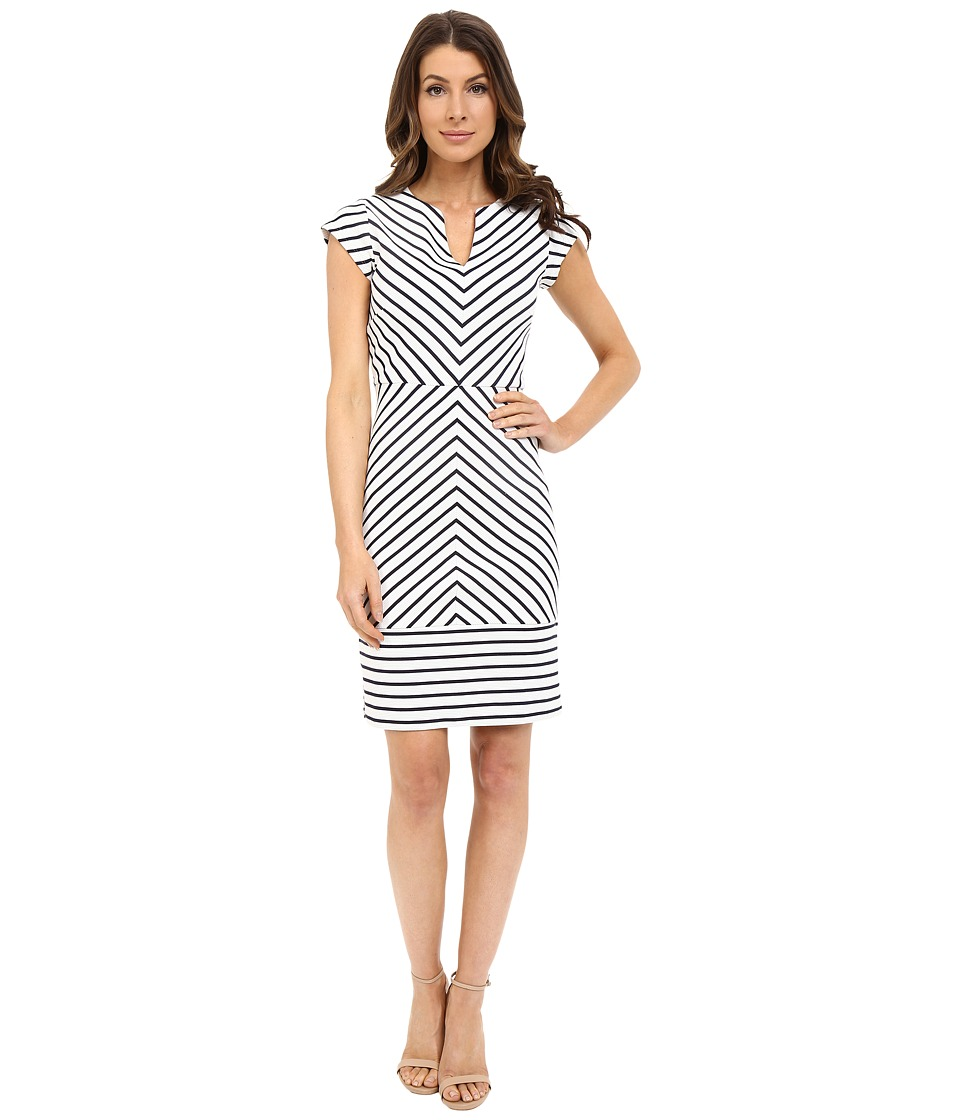 Hatley - Shift Dress (Navy/White) Women's Dress