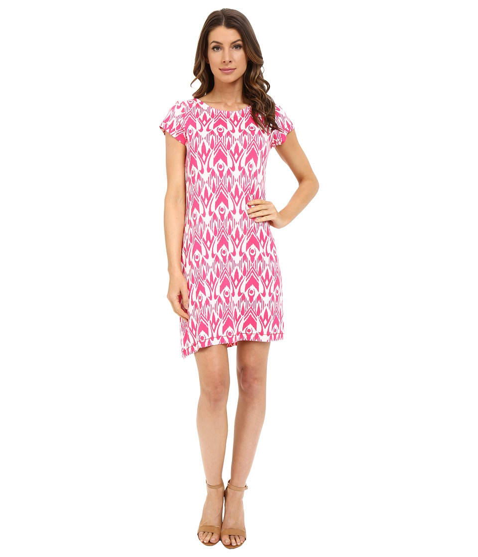 Hatley - T-Shirt Dress (Fuchsia Ikat) Women's Dress