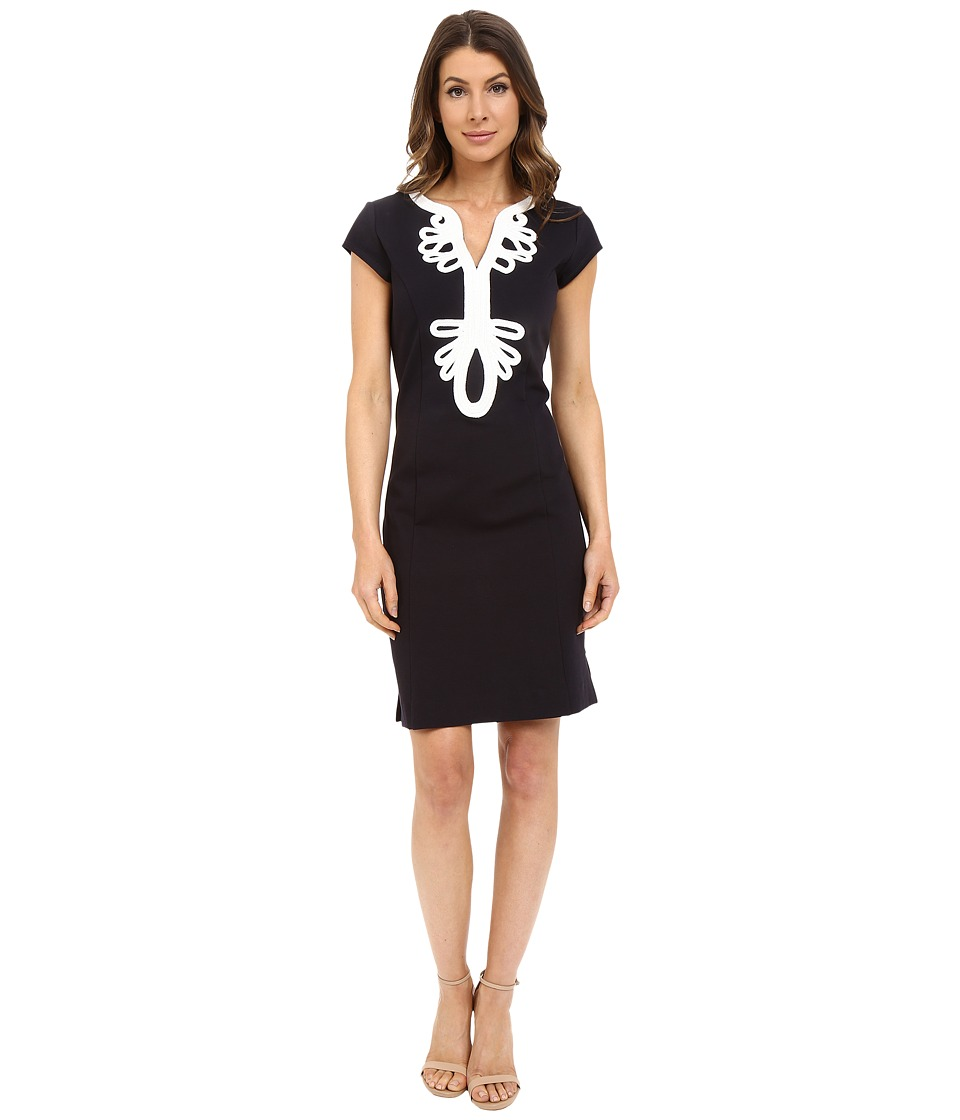 Hatley - Shift Dress (Black/White) Women's Dress