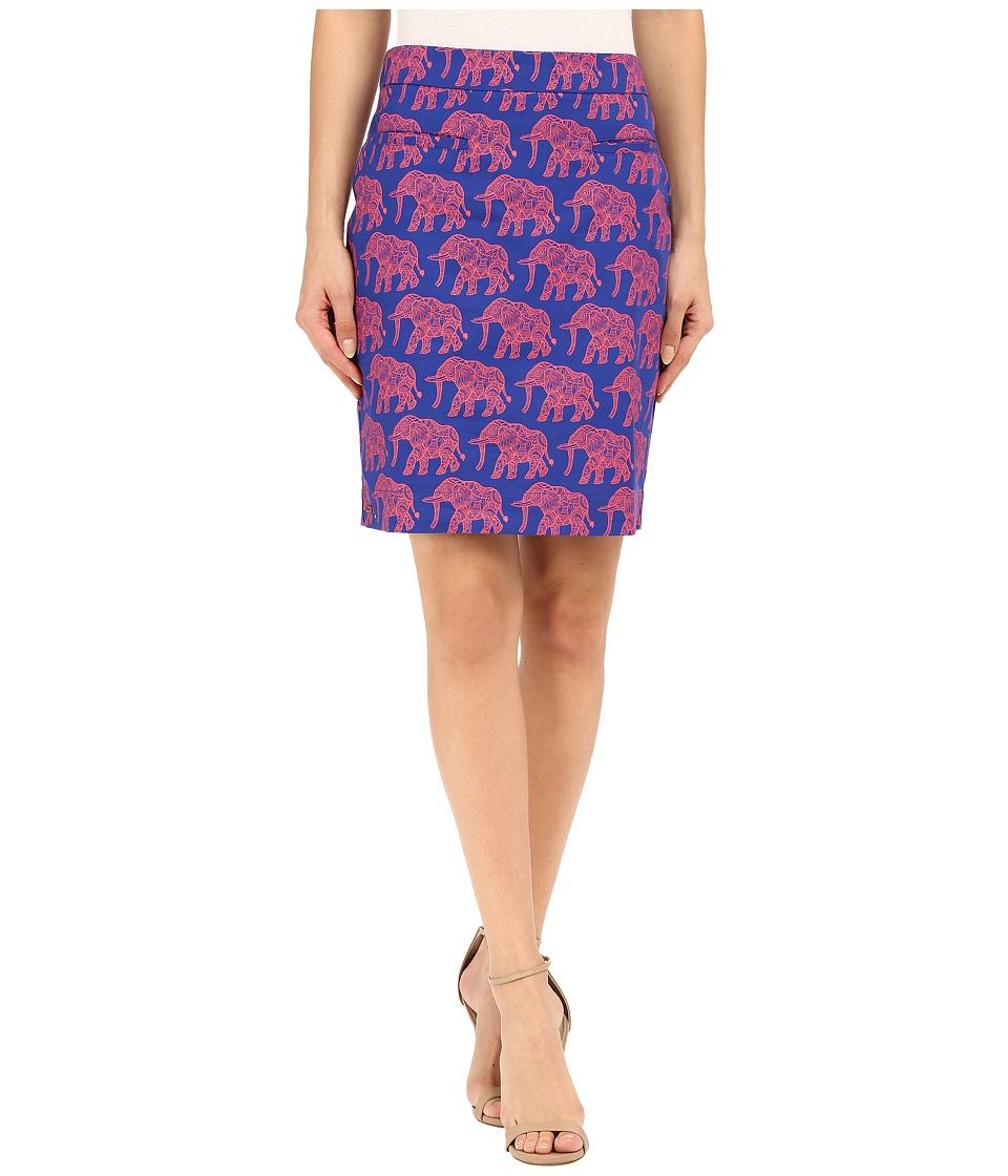 Hatley - Sateen Skirt (Orange Elephants) Women's Skirt