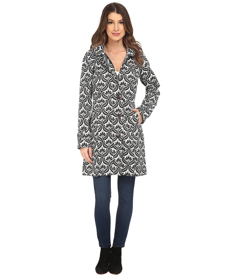 Hatley - Classic Raincoat (Embossed Flowers) Women's Coat