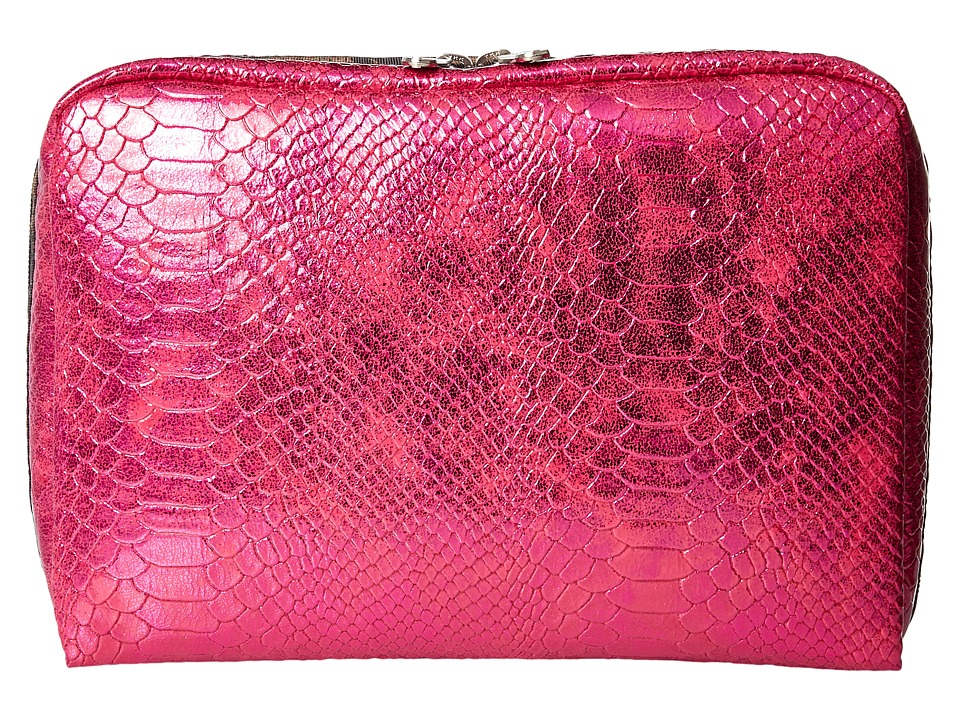 LeSportsac Luggage - Extra Large Rectangular Cosmetic (Pink Snake) Cosmetic Case