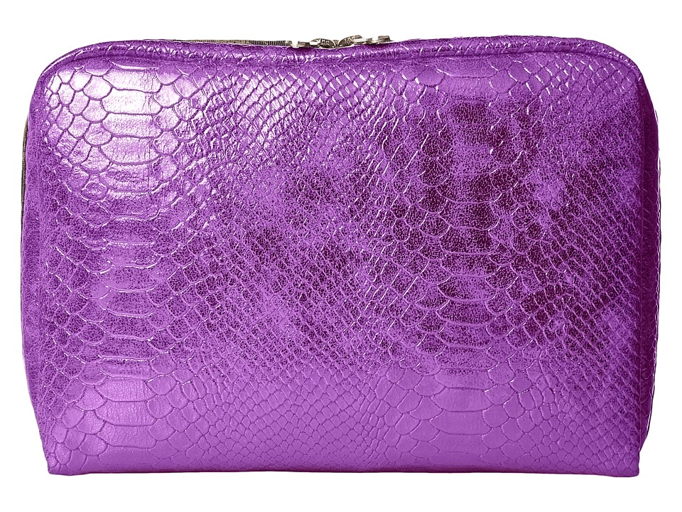 LeSportsac Luggage - Extra Large Rectangular Cosmetic (Purple Snake) Cosmetic Case