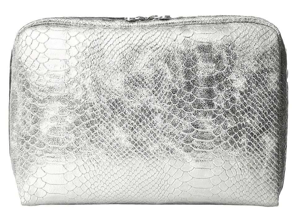 LeSportsac Luggage - Extra Large Rectangular Cosmetic (Silver Snake) Cosmetic Case