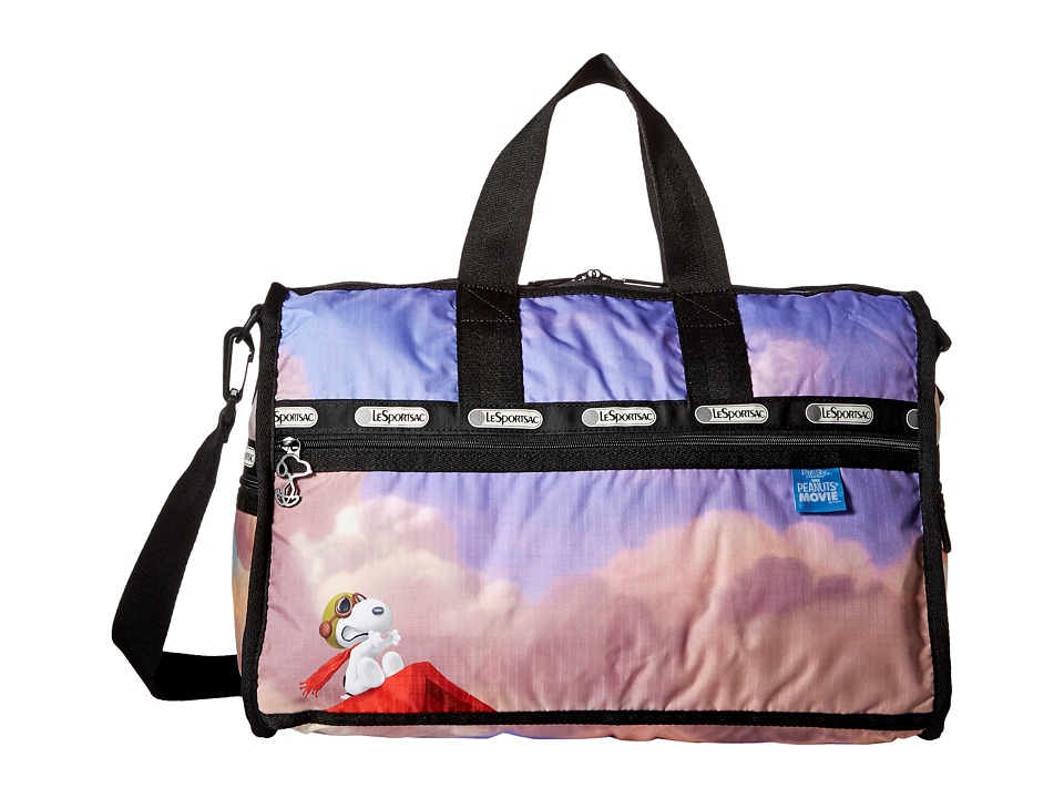LeSportsac Luggage - Medium Weekender (Snoopy Over Paris Medium) Duffel Bags