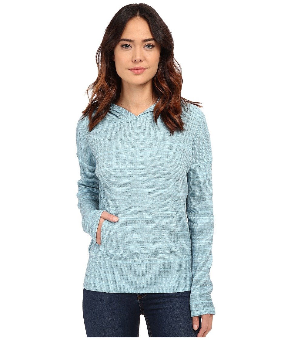 Mod-o-doc - Spacedyed Thermal Pullover Hoodie (Blue Frost) Women's Sweatshirt