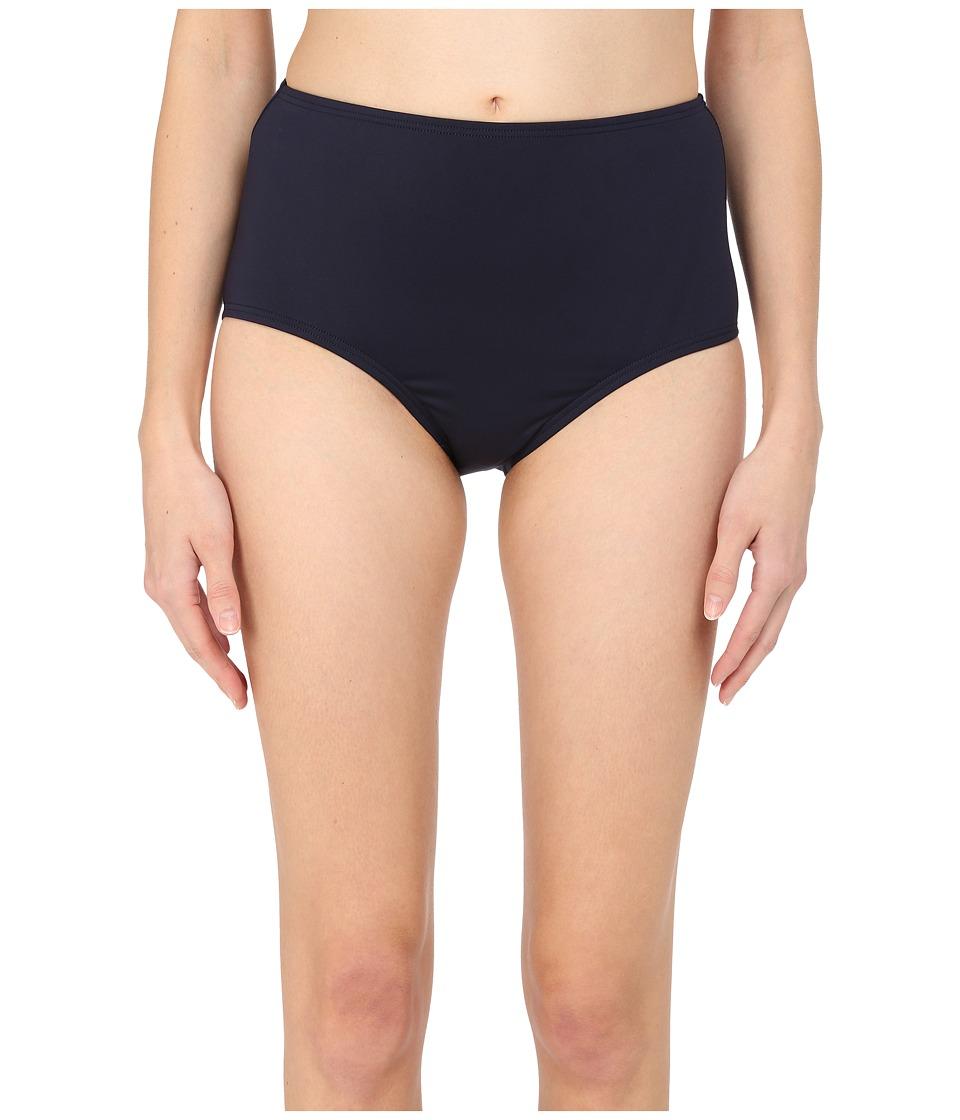 Kate Spade New York - Georgica Beach High Waist Bottom (Rich Navy 1) Women's Swimwear