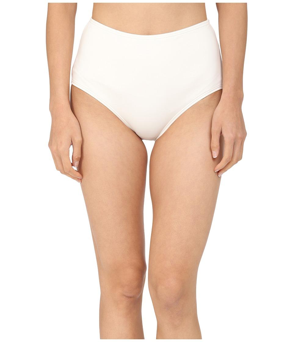 Kate Spade New York - Georgica Beach High Waist Bottom (Cream 1) Women's Swimwear