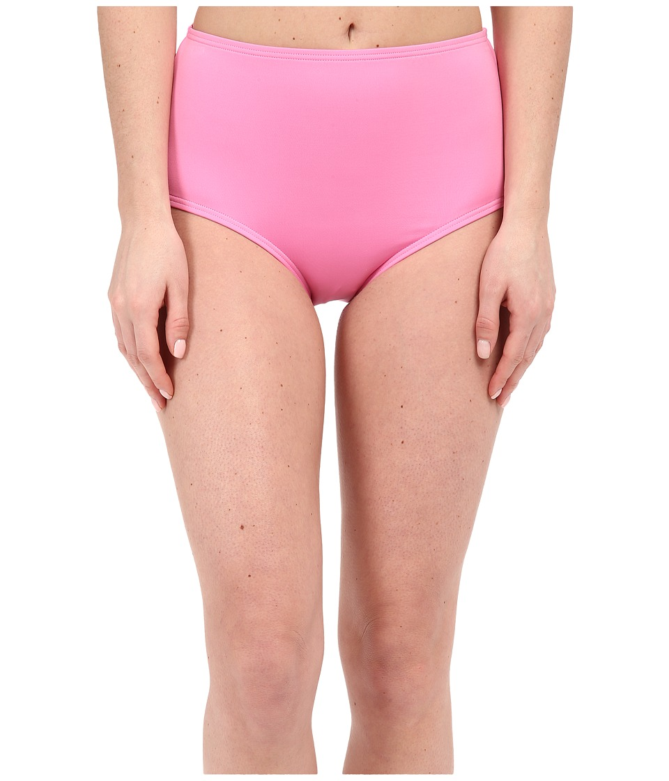 Kate Spade New York - Georgica Beach High Waist Bottom (Vibrant Pink) Women's Swimwear