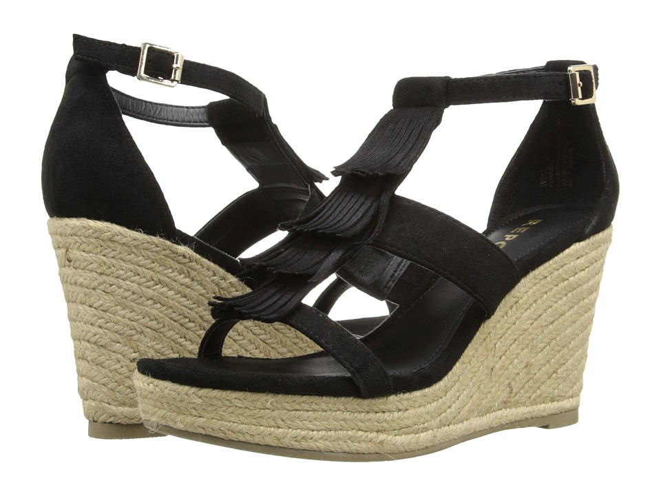 Report - Konner (Black) Women's Wedge Shoes