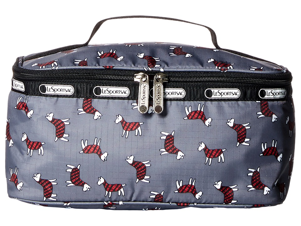 LeSportsac Luggage - Large Rectangular Train Case (Terrier Toss) Cosmetic Case