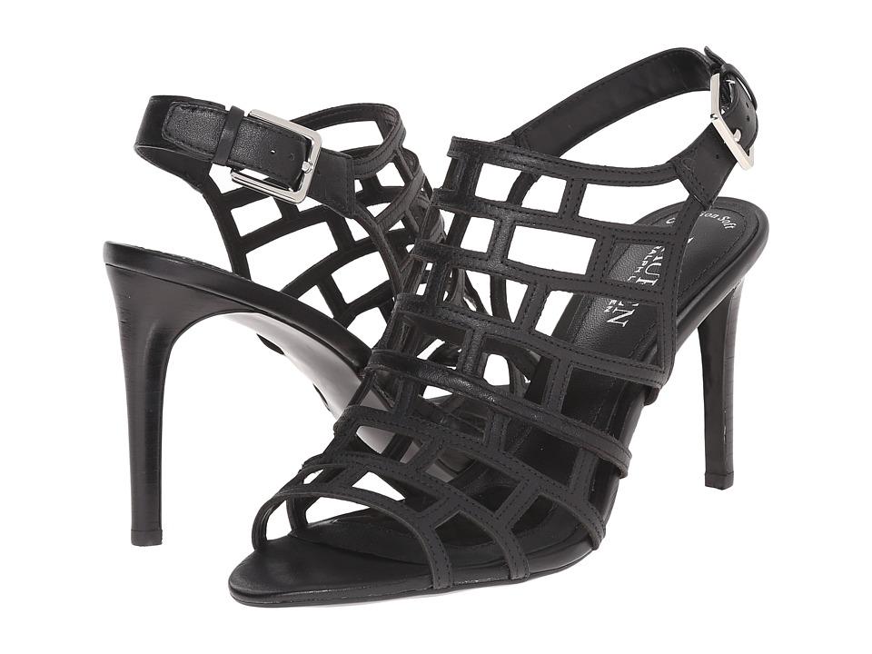 LAUREN Ralph Lauren Sandra (Black Soft Burnished Calf) High Heels