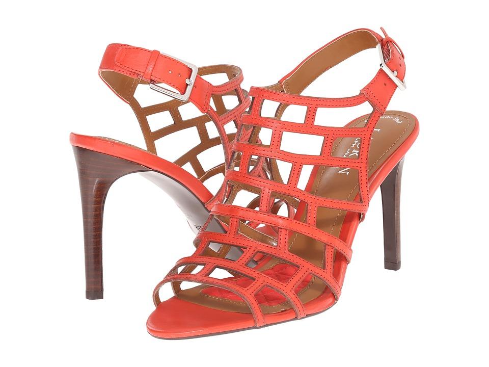 LAUREN Ralph Lauren - Sandra (Madison Red Soft Burnished Calf) High Heels