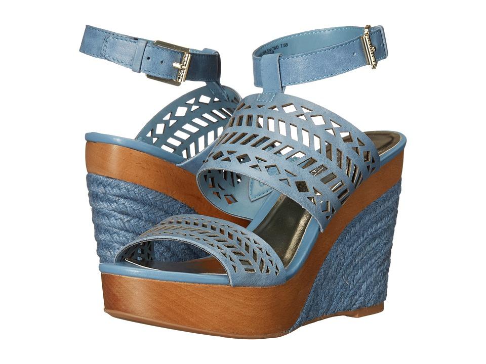 LAUREN Ralph Lauren - Georgina (Wisteria Soft Burnished Calf) Women's Wedge Shoes