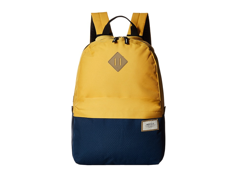 Rip Curl - Mood Colour (Yellow) Backpack Bags