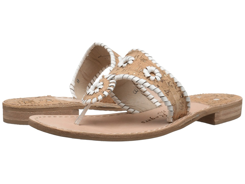 Jack Rogers - Napa Valley (Cork/White) Women's Sandals