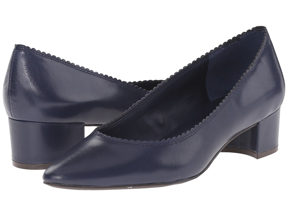LAUREN Ralph Lauren - Hattie (Modern Navy Kidskin) Women's Shoes