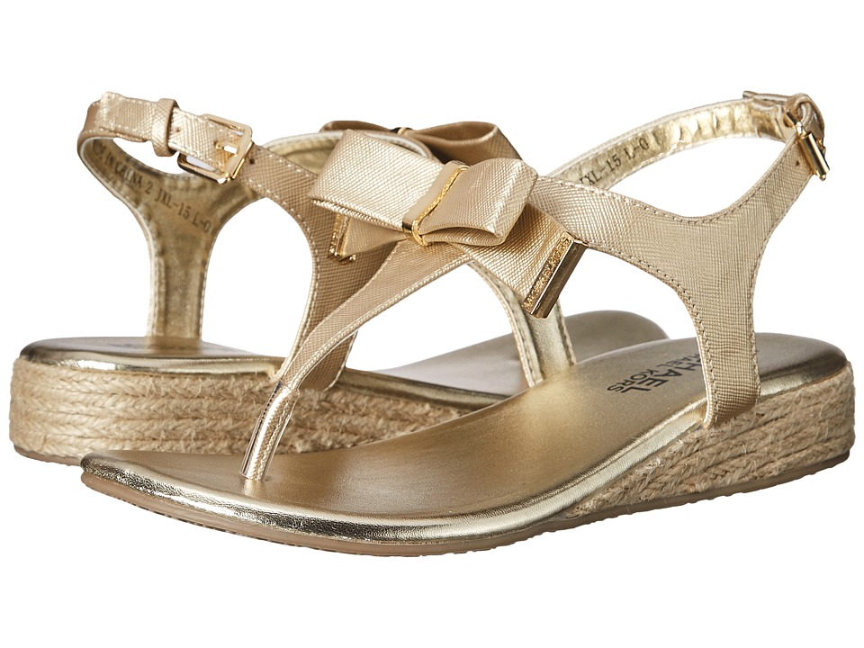MICHAEL Michael Kors Kids - Perry Crysty (Little Kid/Big Kid) (Gold) Girl's Shoes