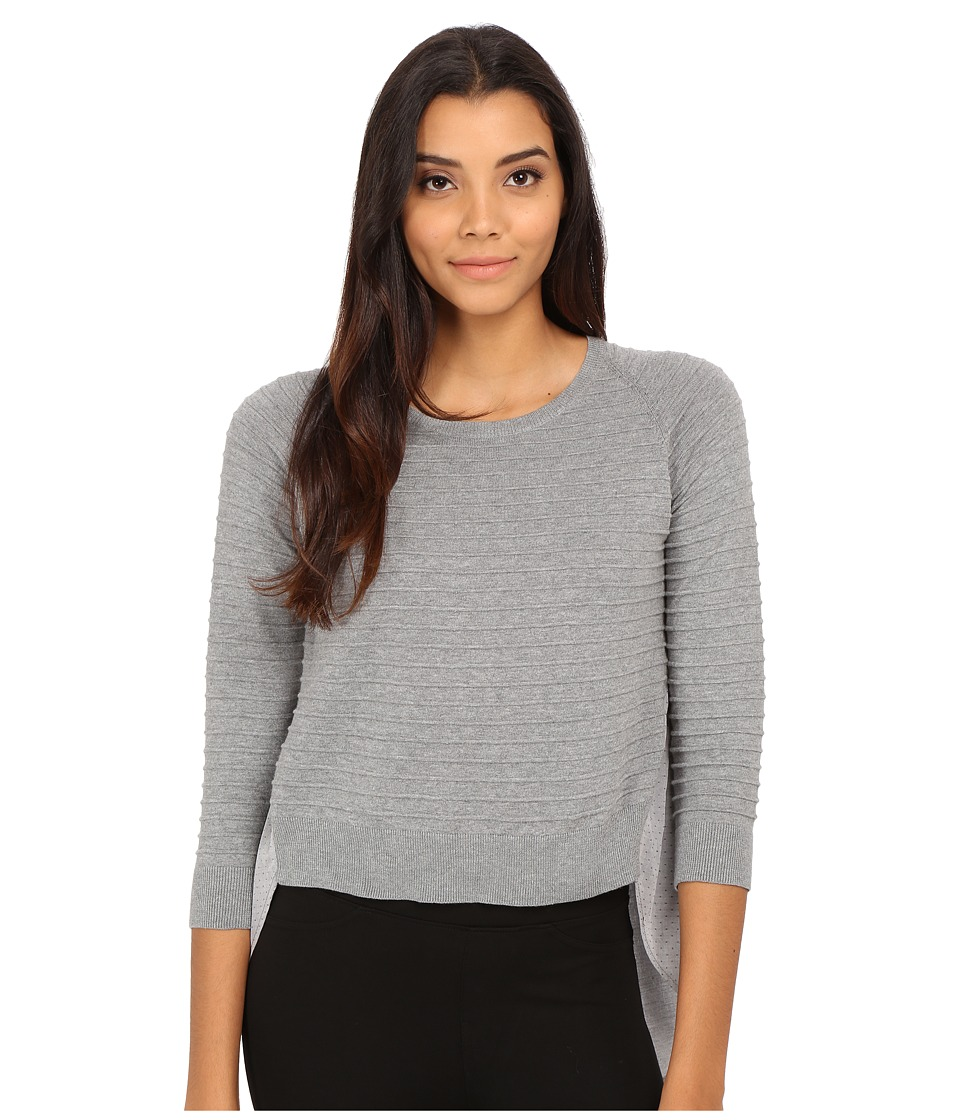 French Connection - Effie Knits Sweater 78EXZ (Grey Melange) Women's Sweater