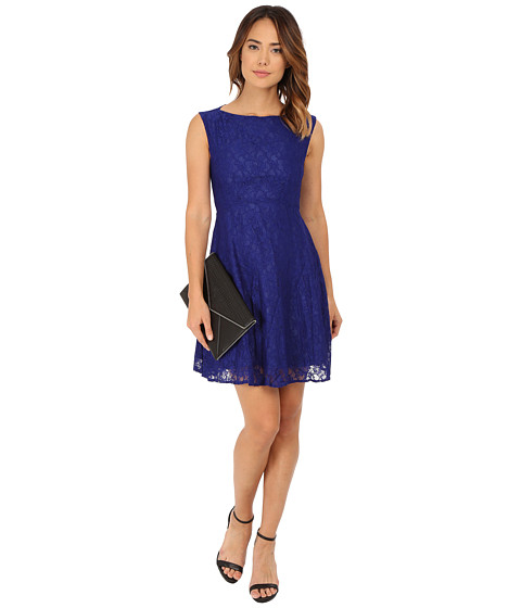 French Connection - Lizzie Ruth Dress 71EQA (Monarch Blue) Women's Dress