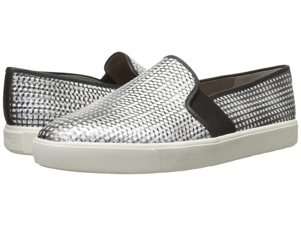 Vince - Blair 5 (Black/White/Taupe) Women's Slip on Shoes