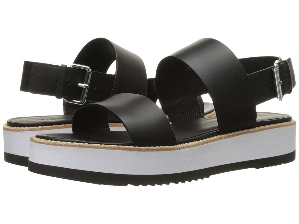 Vince - Mana (Black Vachetta) Women's Shoes