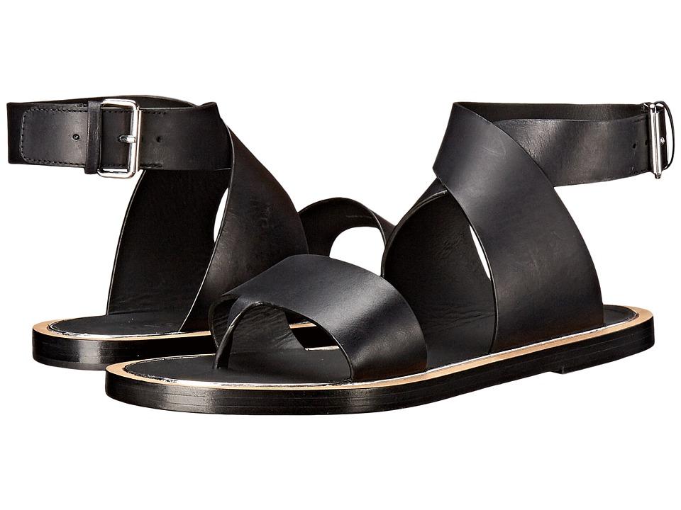 Vince - Mailin (Black Lincho Calf) Women's Shoes