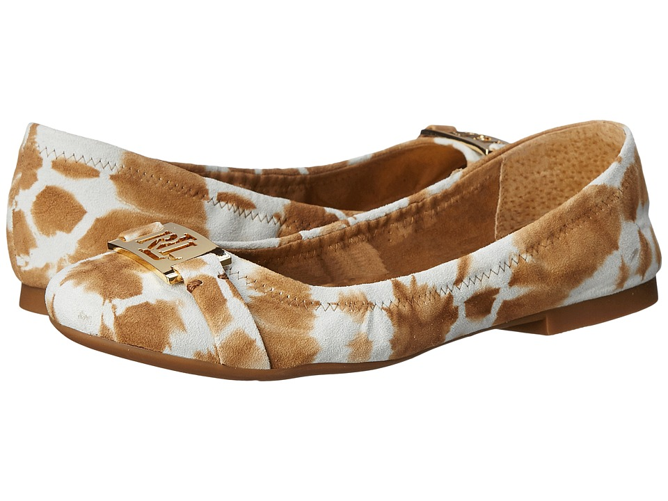 LAUREN Ralph Lauren Betty (Toast Tyedye Leather) Women