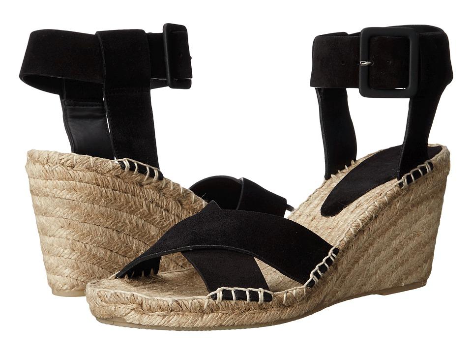 Vince - Stefania (Black Sport Suede) Women's Shoes
