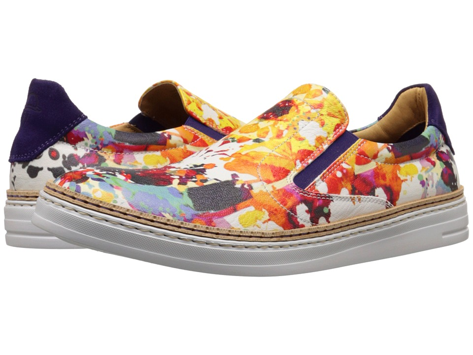 Robert Graham - Hanover (Gerard Print Leather) Men's Slip on Shoes