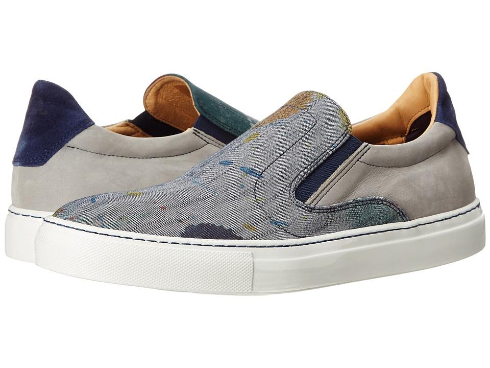 Robert Graham - Rolo (Multi/Dark Grey Canvas RG Spot Canvas/Leather) Men's Shoes