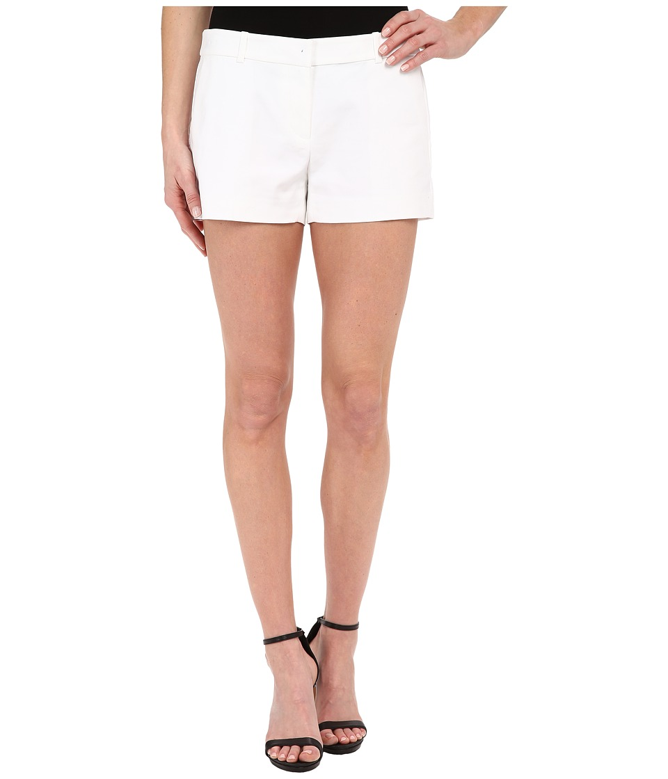 MICHAEL Michael Kors - Solid Mini Shorts (White) Women's Shorts