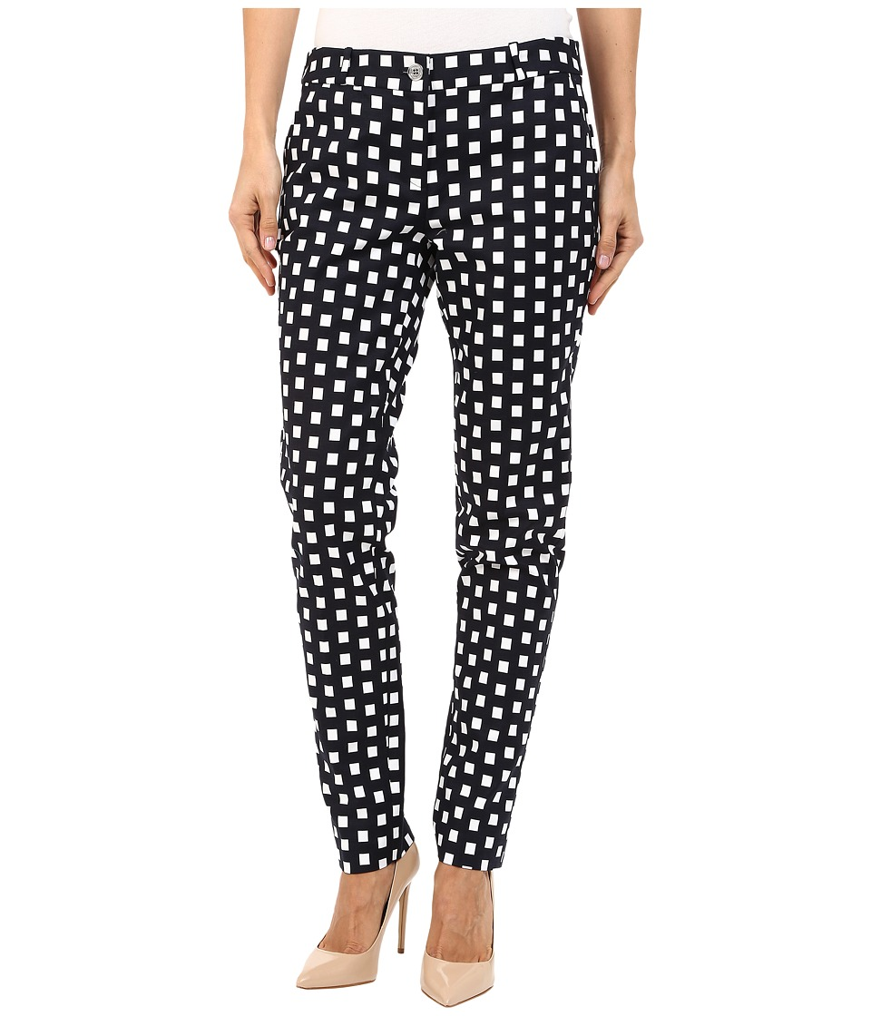 MICHAEL Michael Kors - Roxy Print Miranda Pants (New Navy) Women's Casual Pants