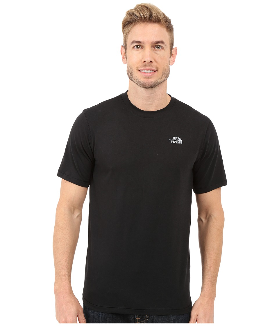 The North Face Short Sleeve Crag Crew (TNF Black) Men