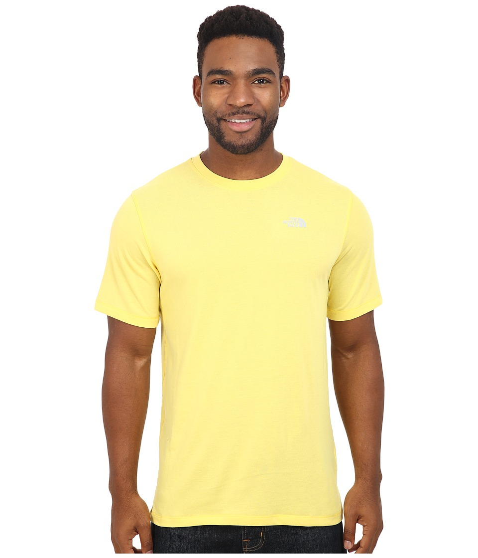 The North Face - Short Sleeve Crag Crew (Goldfinch Yellow) Men's T Shirt