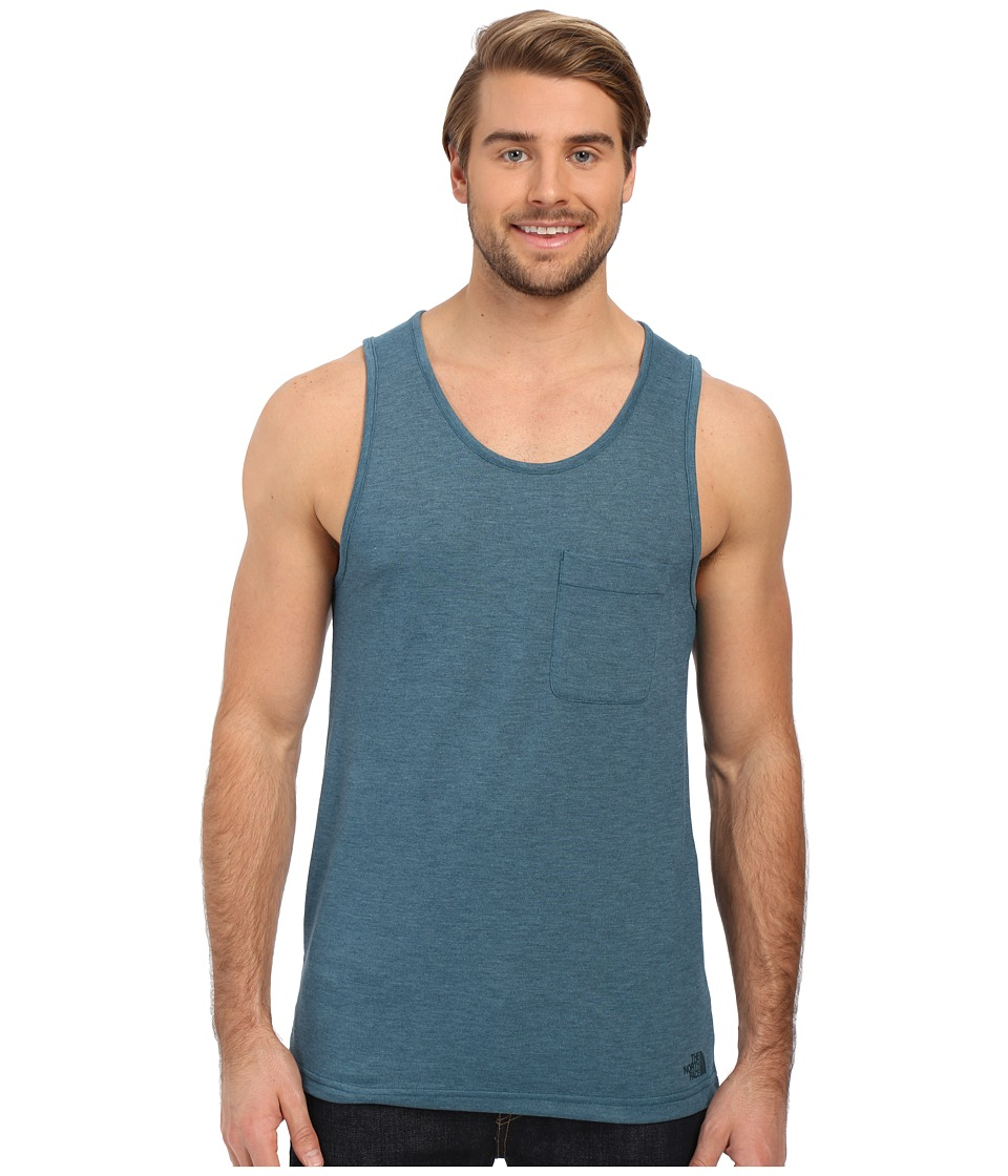 The North Face - Crag Tank Top (Blue Coral Heather) Men's Sleeveless