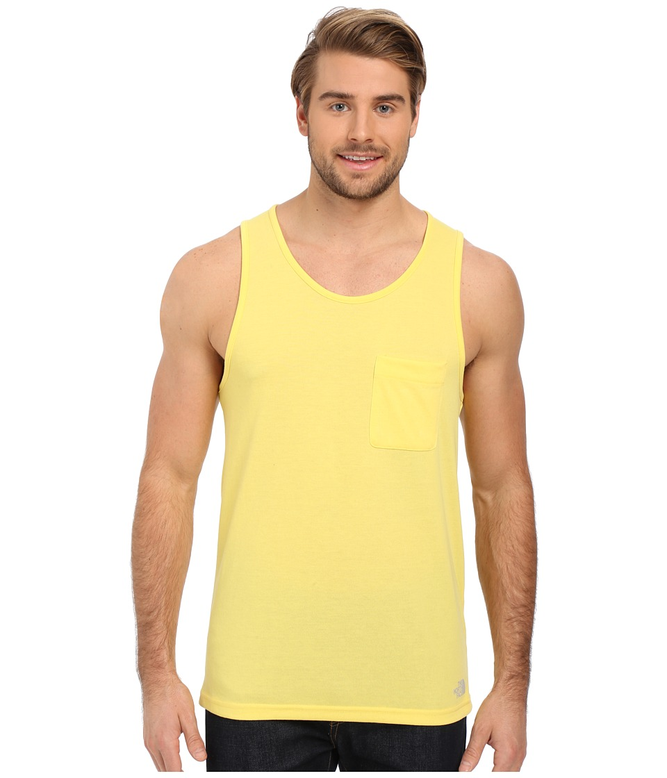 The North Face - Crag Tank Top (Goldfinch Yellow) Men's Sleeveless