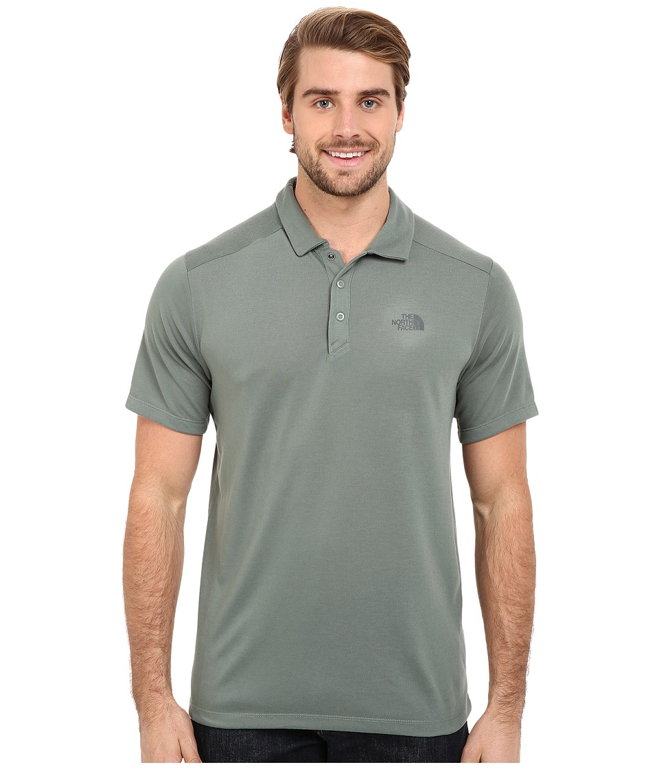 The North Face - Short Sleeve Crag Polo (Laurel Wreath Green) Men's Short Sleeve Knit
