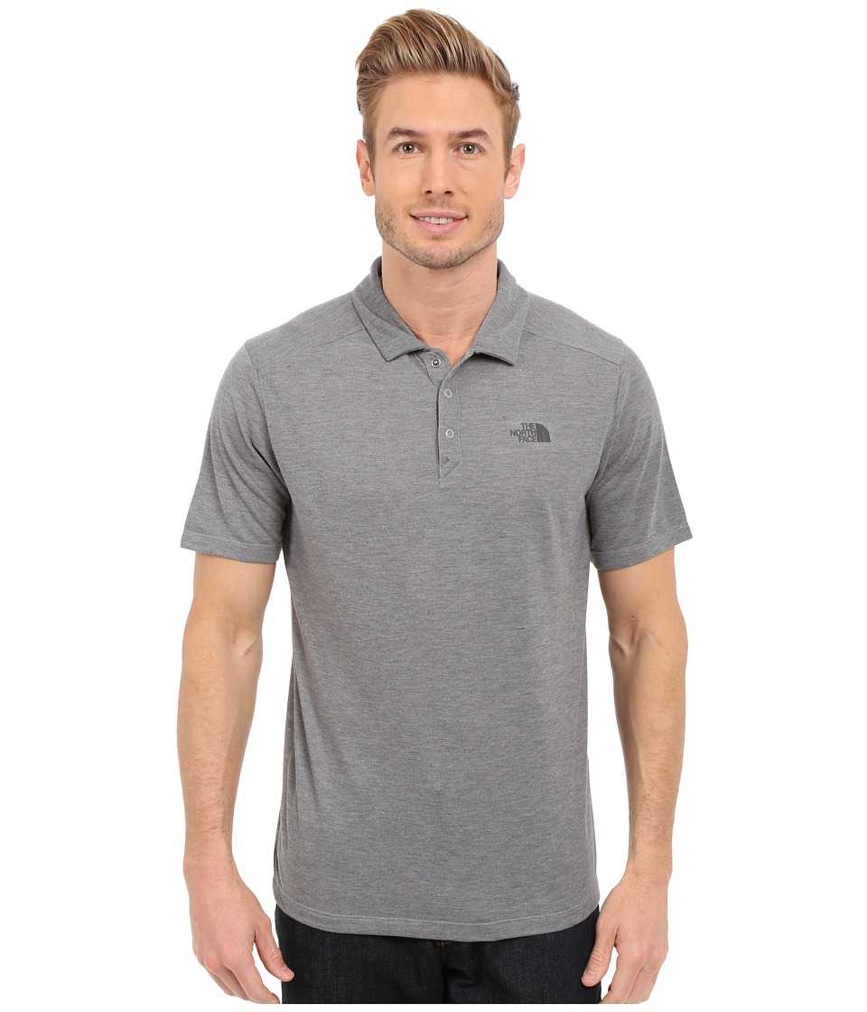 The North Face - Short Sleeve Crag Polo (TNF Medium Grey Heather) Men's Short Sleeve Knit