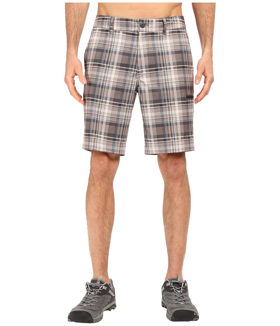 The North Face - Pura Vida 2.0 Shorts (Dune Beige Plaid) Men's Shorts