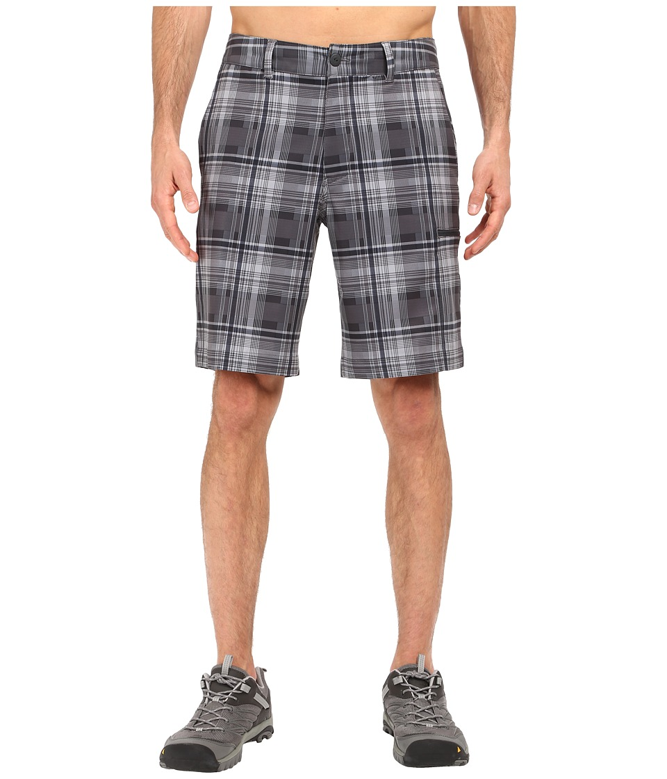 The North Face - Pura Vida 2.0 Shorts (Asphalt Grey Plaid) Men's Shorts