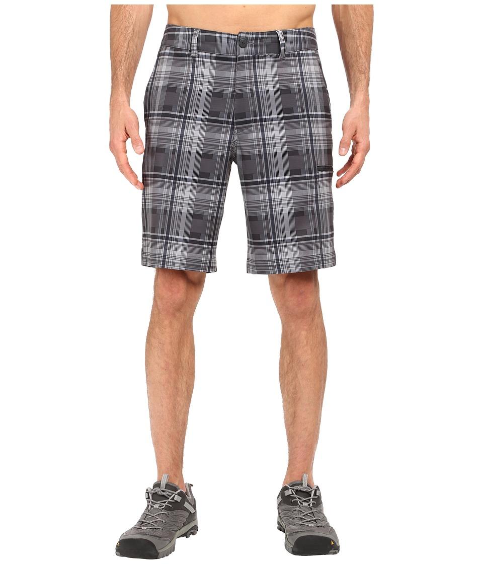 The North Face - Pura Vida 2.0 Shorts (Asphalt Grey Plaid) Men's Shorts