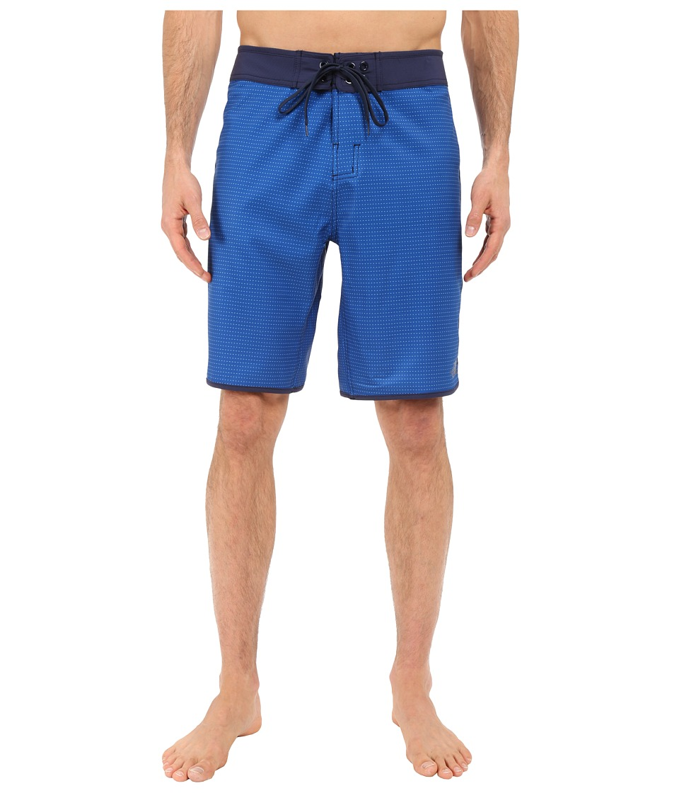 The North Face - Whitecap Boardshorts (Limoges Blue Dash Stripe) Men's Swimwear